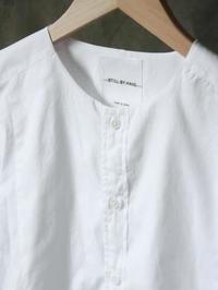 STILL BY HAND クルーネックシャツ WHITE (ファッション・ビューティ部門) - 【Tapir Diary】神戸のセレクトショップ『タピア』のブログです