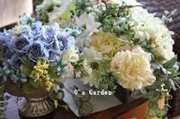ブライダルアレンジlesson♪ - O's garden へ ようこそ~ ♪