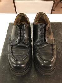 シャンボードの修理前のメンテナンス★ - 池袋西武5F靴磨き・シューリペア工房