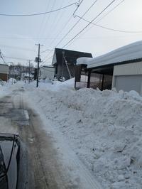 2月2日(木)・・・宮の沢町内会除雪 - ある喫茶店主の気ままな日記。