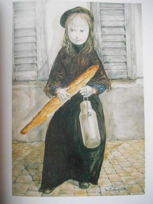 フランスのBAGUETTE, BIENTOT AU PATRIMONE MONDIAL ? バゲット、ビィヤント・オゥ・パトリモアンヌ・モンディアル・・・ - 波多野均つれづれアート・パート2