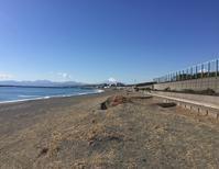 茅ヶ崎、冬の海と富士山が素晴らしい! - アーバン・ガーデン・ウォッチング
