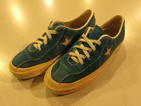 """CONVERSE ALL STAR TENNIS SUEDE LEATHER 70s""ってこんなこと。 - THE THREE ROBBERS ってこんなこと。"
