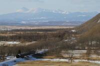 阿寒の峰を背に湿原を走る- 2017年冬・釧網線 - - ねこの撮った汽車