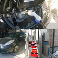 車の中も見せていただきました( *´艸`) - 西村電気商会|東近江市|元気に電気!