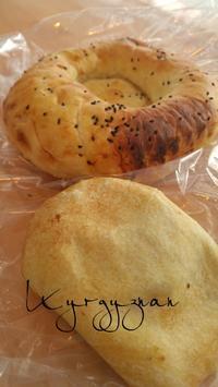 キルギスのナンで朝ごパン - 料理研究家ブログ行長万里  日本全国 美味しい話