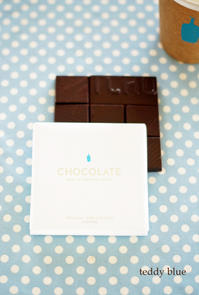 chocolate from blue bottle coffee  ブルーボトル チョコレート - teddy blue