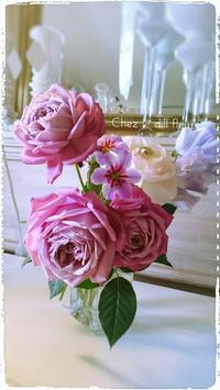 福岡フラワーアレンジメント教室・癒しの時間♪ - 福岡パリスタイルフラワーアレンジメント教室 Chez le dill fleur   シェ・ル・ディル・フルール