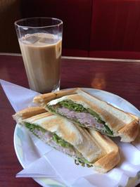 ハムホットサンド - 日だまりカフェ