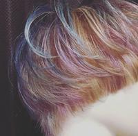 3DカラーXマッシュ - 空便り 髪にやさしいヘアサロン 髪にやさしいヘアカラー くせ毛を愛せる唯一のサロン