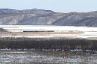 湿原を横切る- 2017年冬・釧網線 - - ねこの撮った汽車