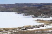 塘路湖畔- 2017年冬・釧網線 - - ねこの撮った汽車