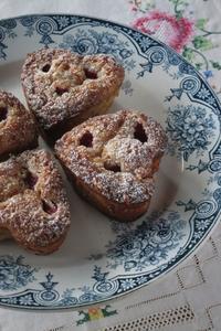 ホワイトチョコレート×フランボワーズの甘酸っぱい大人な焼き菓子♪ - ~横浜パン教室&世界の料理教室・ガストロノマードのTastyTravel~