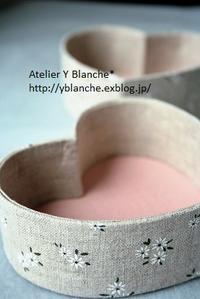 この季節になると・・・ハート型BOX - カルトナージュ Atelier Y_Blanche*