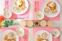 【2~3月レッスンのテーブルはこんな雰囲気の予定です♪】 - gohan-biyori*