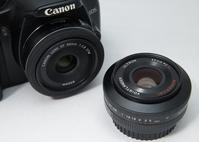 EFマウント 40mm単焦点レンズ 近接撮影比較 - area code 072