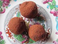 <イギリス菓子・レシピ> チョコレート・トリュフ【Chocolate Truffles】 - イギリスの食、イギリスの料理&菓子