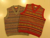 """SOURCE-TAP × TheThreeRobbers FAIR ISLE KNIT VEST - ORDER""ってこんなこと。 - THE THREE ROBBERS ってこんなこと。"