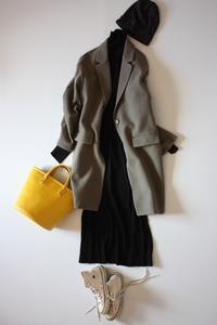 UNIQLOチェスターコート着まわし - eikoの着回し服&英国式オーラライト