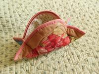 キュートな形のポーチ - eri-quilt日記2