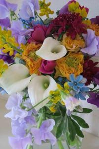 「自分の色」の春の花束 - Wanderlust