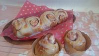 イチゴジャムロールパン - ゆず空パン工房