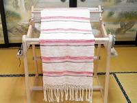 機織りと瓢箪 - 里山の機織りばぁば