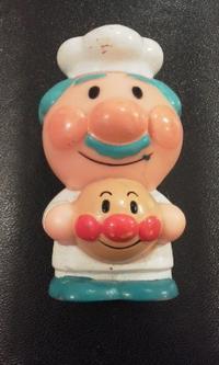 【105】ジャムおじさん(アンパンマン顔)・2 - アンパンマン★指人形★コレクション