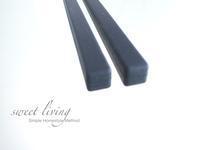 シンプルブラックな菜箸 - sweet living  シンプルで快適な暮らし