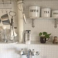 キッチンタイル貼り変え&蛇口とハンドル交換 - voyage