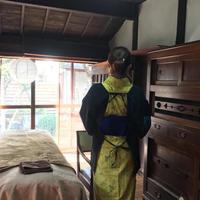 働く衣服シリーズ「会津もめんで割烹着」 - クラニスムストアのブログ