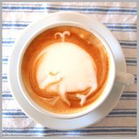 【ラテアート作り方】くじら - 【カフェスタイルを生活にプラス】cafe beans +Y
