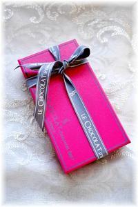 バレンタインのチョコレート - Less is more