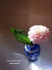 花一輪・・・ - 水玉模様のワンピース