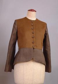 光沢のあるウールと大島のジャケット - 私のドレスメイキング