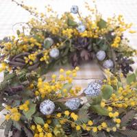 3月の1dayレッスン - driedflower arrangement ✦︎ botanical accessory ✦︎ yukonanai ✦︎ gland*
