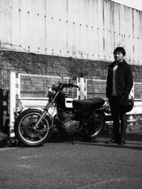 長久保 謙介 & YAMAHA SR500(2017.01.29) - 君はバイクに乗るだろう
