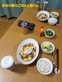 マーボー豆腐定食 - まるの家のごはんと暮らし