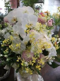 たくさんの思い出が。お供えのお花。大切な花贈り - ルーシュの花仕事