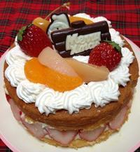 クリスマスケーキ - がんばれ!お家パン