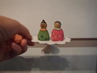 木彫りのお雛様 - warble22ya