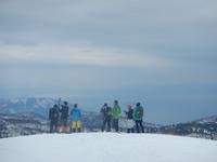 時にはスキーを離れてスノーシューでワハハ! - 山にでかける日