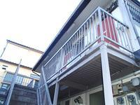 軽量鉄骨造のアパートの鉄骨階段の診断をしました - 快適!! 奥沢リフォームなび