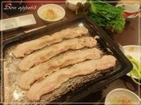 お気に入り♡李朝園のサムギョプサルランチ@大阪/鶴橋 - Bon appetit!