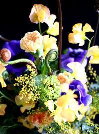 ブリエのflower lesson in February♪ - at the table