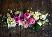 ギフトに。女性用。ブリキコンテナアレンジメント。 - 札幌 花屋 meLL flowers