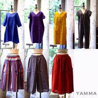 ヤンマ産業さんのお洋服をオンラインショップにアップいたしました - nara