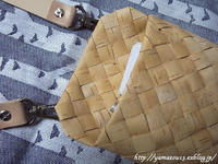 自宅使い簡易バック用ベルト - ロシアから白樺細工