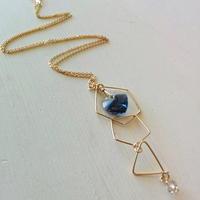 ジオメトリック(幾何学)なネックレス - 恋する宝石箱「Atelier Yuu* アトリエユウ」