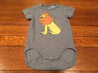 "minirodini""LION SP SS BABY BODYSUITS""【3142-1074-1】 - LOB SHOP"